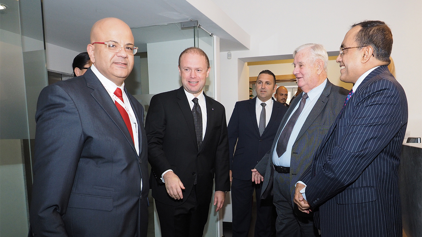Visit to LSC Malta by Prime Minister of Malta